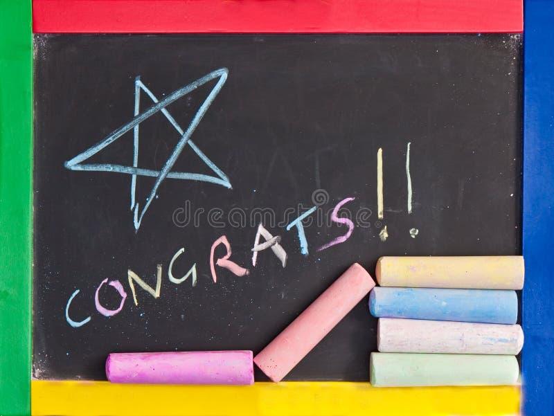 gratulacje obraz stock