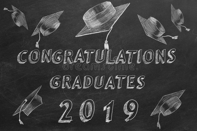 Gratulacje absolwenci 2019 ilustracji