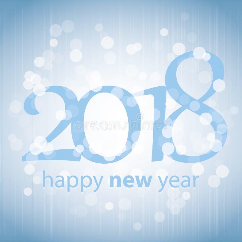 Gratulationer - blå abstrakt modern kort för hälsning för lyckligt nytt år för stil, räkning eller bakgrund, idérik designmall -  vektor illustrationer