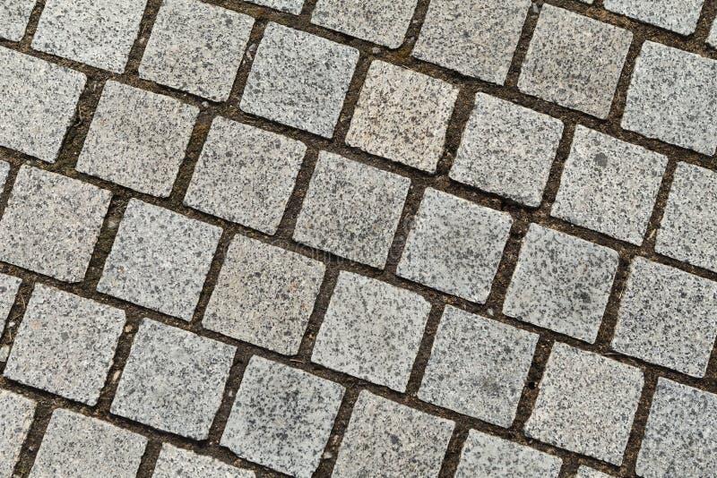 Grau cobbles strukturierten Hintergrund lizenzfreies stockbild