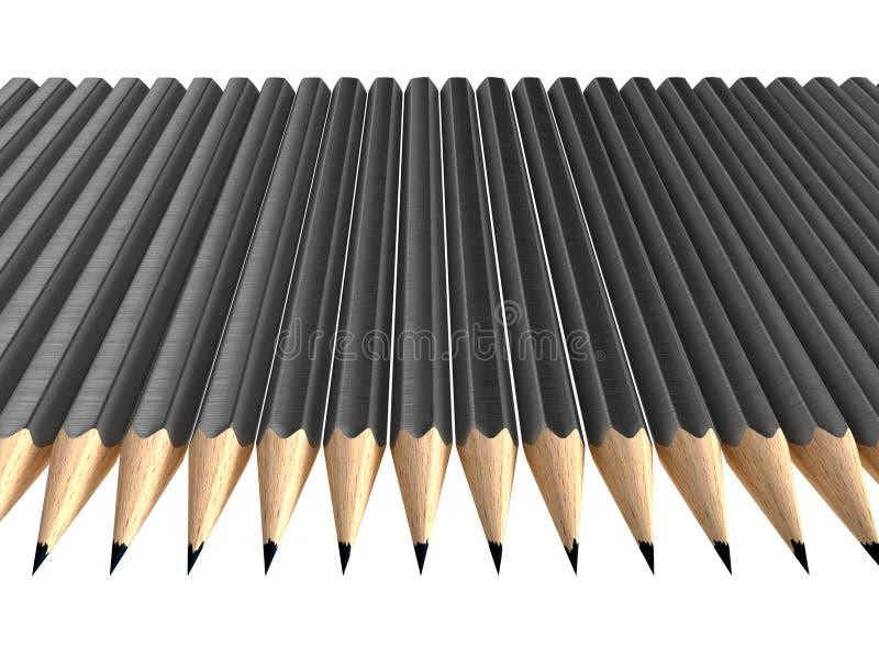 Download Grau zeichnet Anordnung an stock abbildung. Illustration von abbildung - 12200275