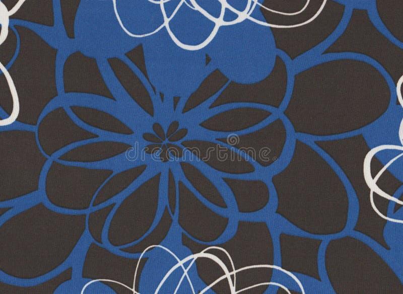 Graue, Blaue Und Weiße Blumen Extrahieren Hintergrund Stockbild ...