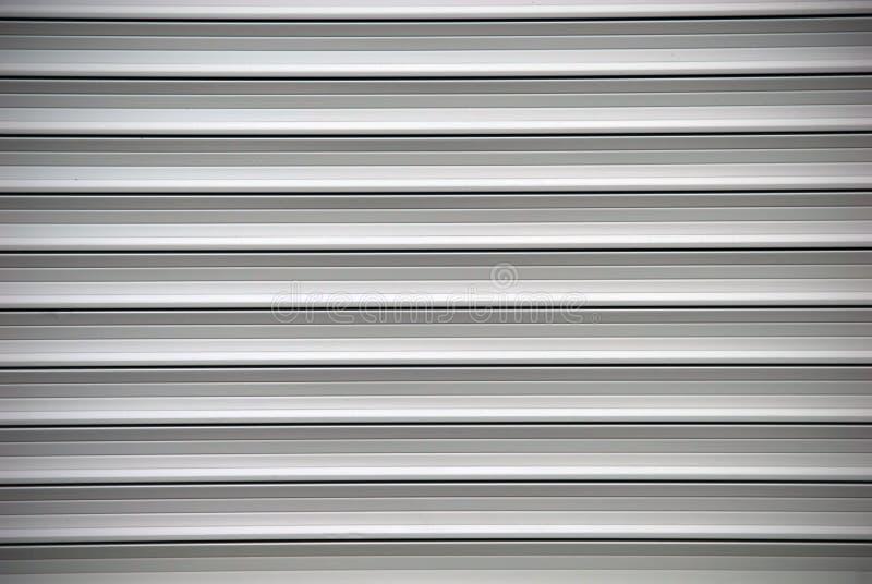 Graue Blendenverschlüsse stockfotografie
