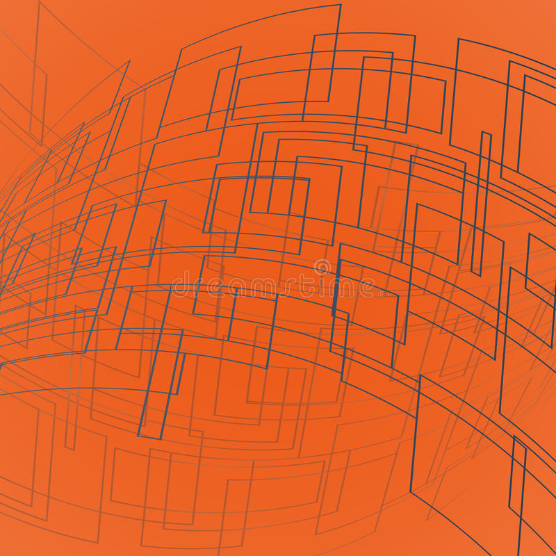 Graue Deformationsrechtecke vektor abbildung