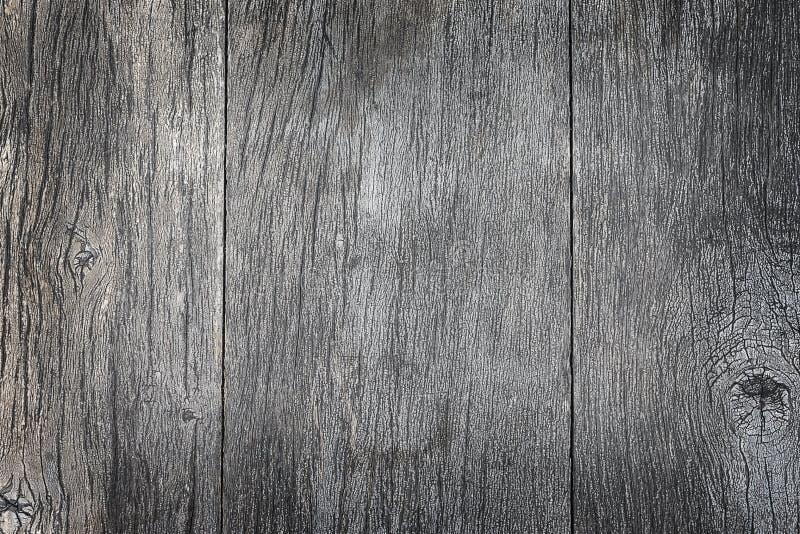 Graue hölzerne Plankenbeschaffenheit für Hintergrund lizenzfreies stockbild