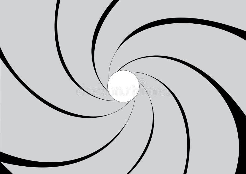 Graue Membrane vektor abbildung