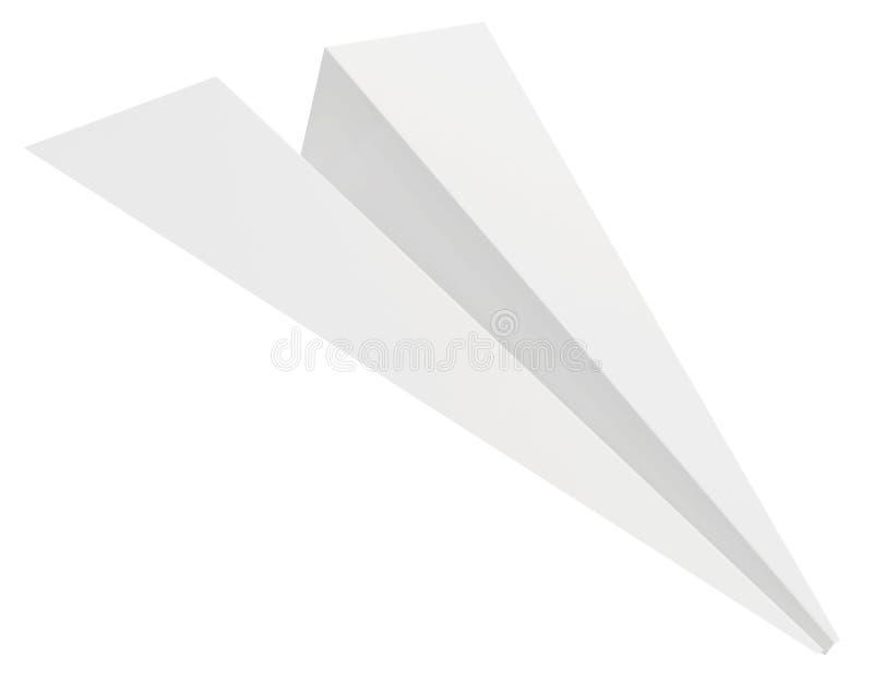 Graue Papierfläche Getrennt auf weißem Hintergrund vektor abbildung