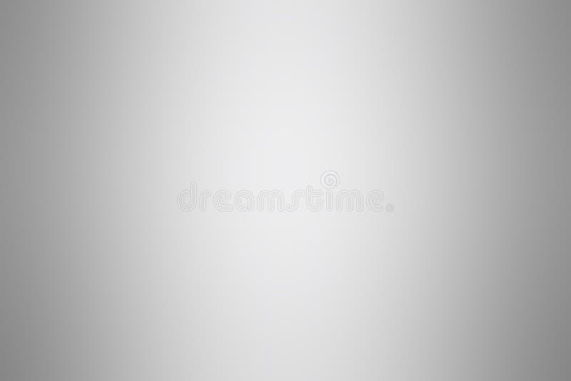 Graue silberne Steigungshintergrundfarbweiches Licht, graue weiche helle Tapete der Steigung schön, graue Bildsteigungsfarbe weic vektor abbildung
