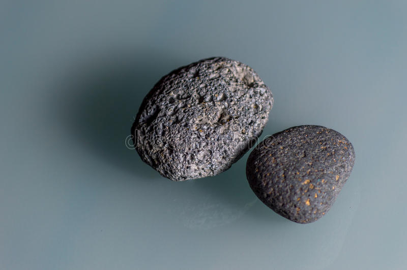 Graue Steine stockfotos