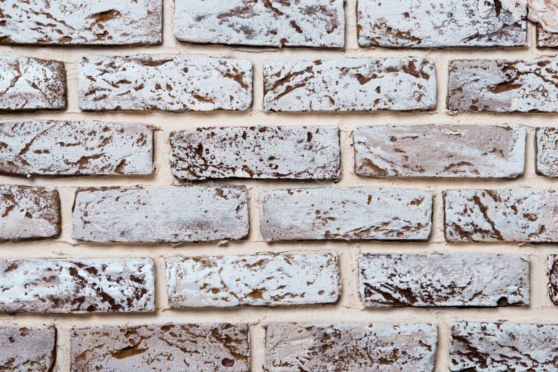 Grauer Backsteinmauerbeschaffenheits-Schmutzhintergrund mit vignetted Ecken, kann für Innenarchitektur benutzt werden lizenzfreie stockfotos
