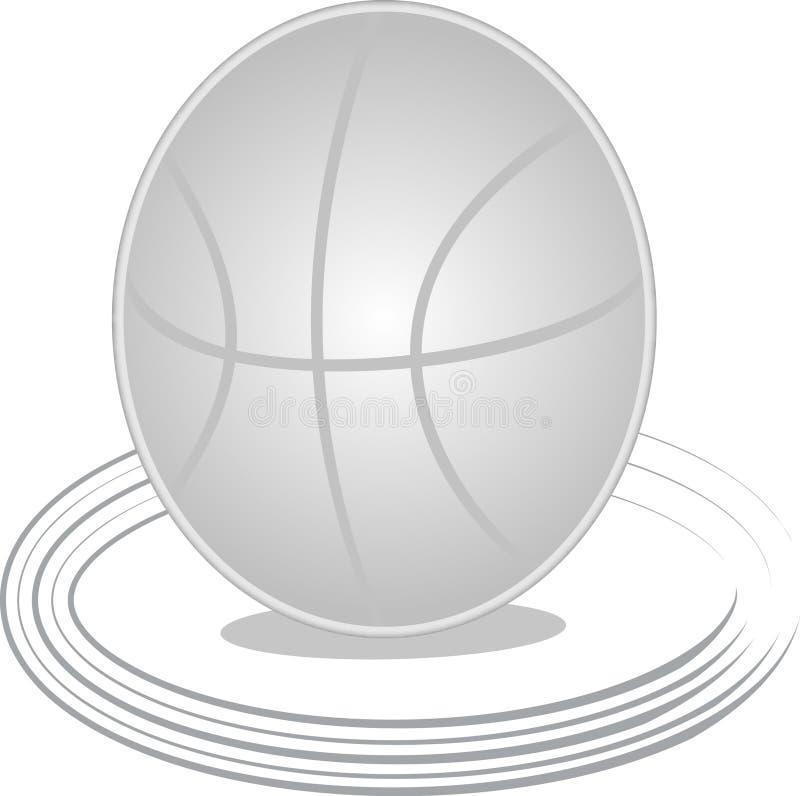 Grauer Basketball stockfotos