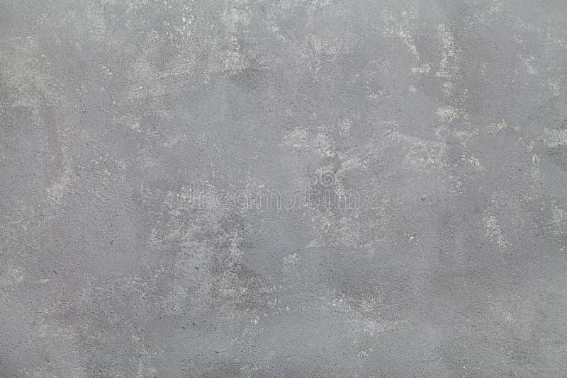 Grauer Gipsbeschaffenheitshintergrund, neutrale Betonmauer lizenzfreies stockfoto