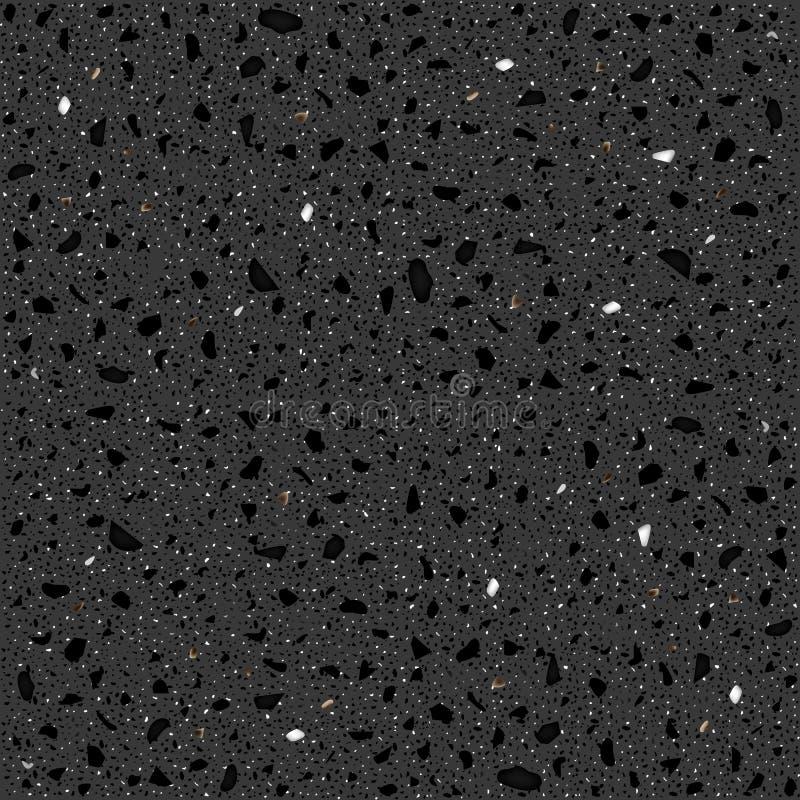 Grauer Granit lizenzfreie abbildung
