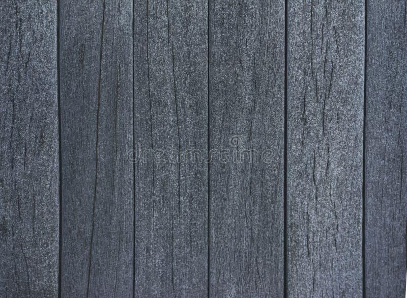 Grauer Hintergrund mit horizontaler Draufsicht der hölzernen Beschaffenheit lokalisiert, dunkler hölzerner Hintergrund der Weinle stockfotografie
