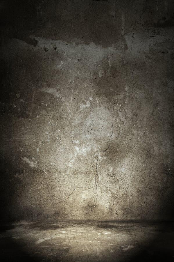 Grauer Innenraum stockfoto
