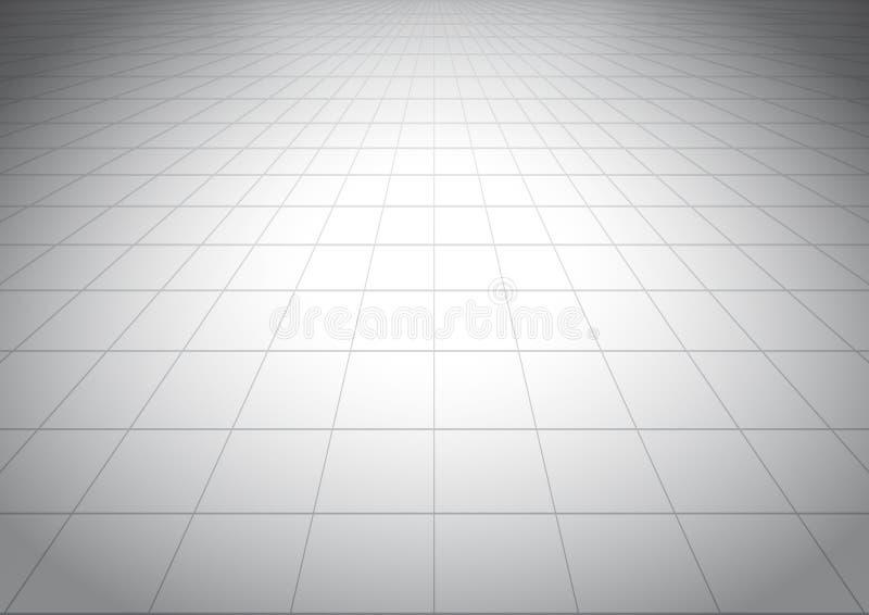 Grauer mit Ziegeln gedeckter glatter Boden lizenzfreie stockfotos