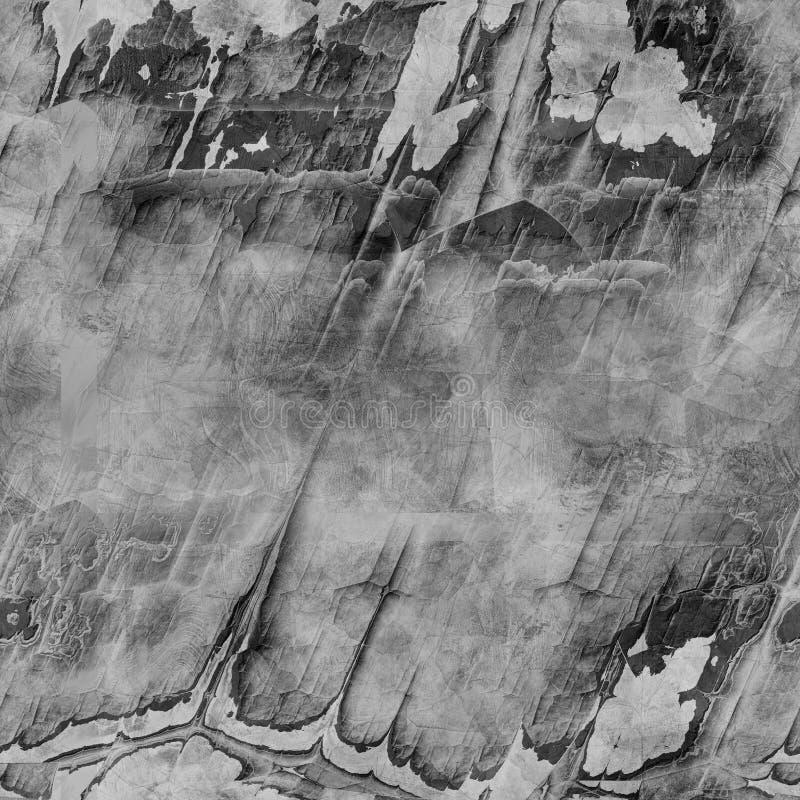 Grauer nahtloser gebrochener Steinwandhintergrund lizenzfreies stockfoto