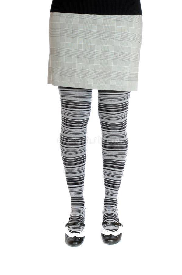 Grauer Pantyhose lizenzfreies stockbild