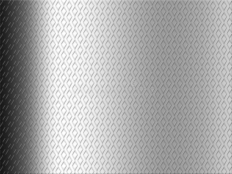 Grauer Steigung-Diamant-Hintergrund vektor abbildung