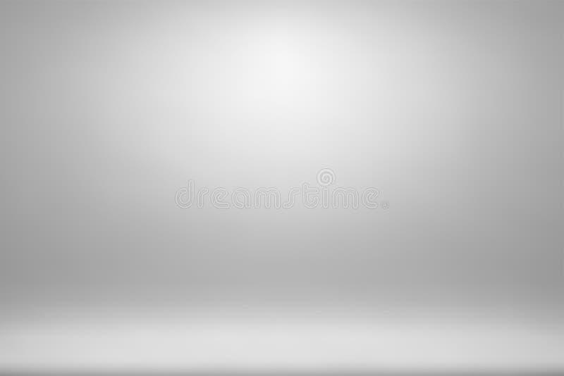Grauer Steigungszusammenfassungshintergrund, graue weiche helle Rahmen unscharfe Maschenbeschaffenheit für Darstellungszeitschrif stockbild