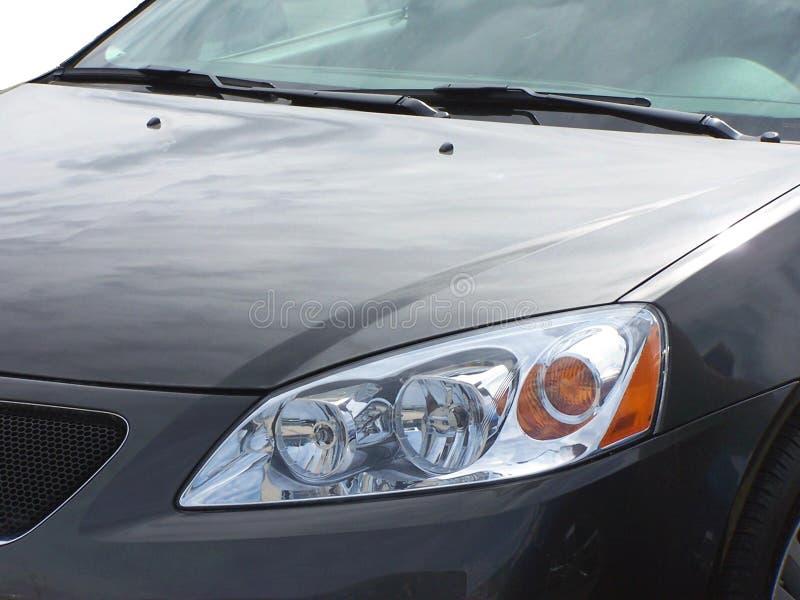 Graues Auto lizenzfreie stockbilder