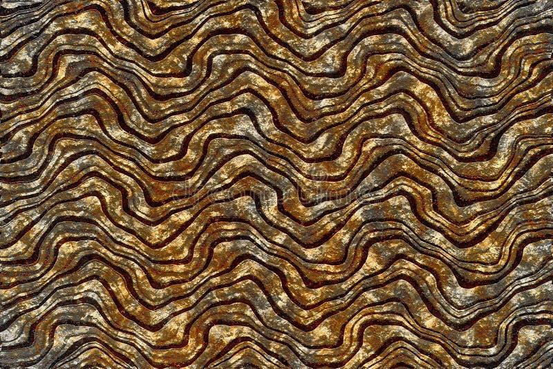 graues, braunes und schwarzes, nahtloses Holzmuster, abstrakte Tapeten stockbild