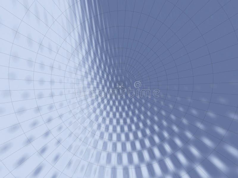 Graues Netz stock abbildung