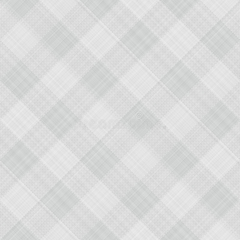 Graues Tabellentuch lizenzfreie abbildung