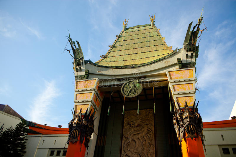 GRAUMANS CHINESE THEATER. Located on Hollywood Boulevard in Hollywood, California,USA stock images