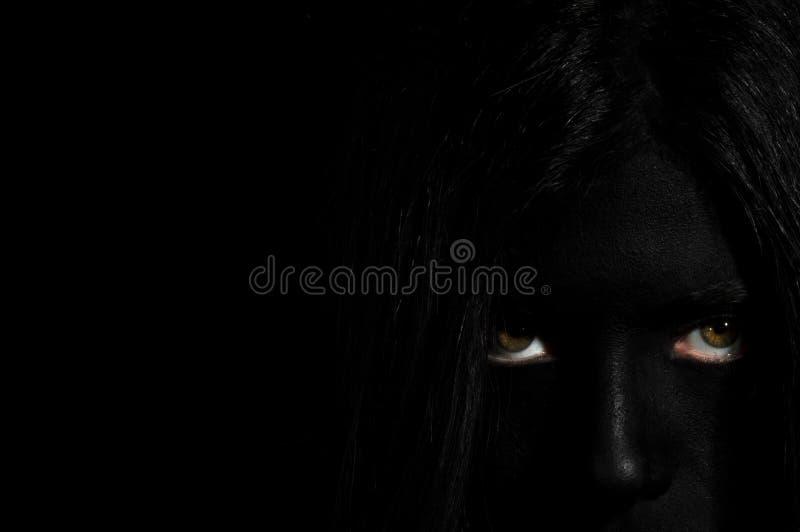 Grausigkeit - Freaky lizenzfreie stockfotografie