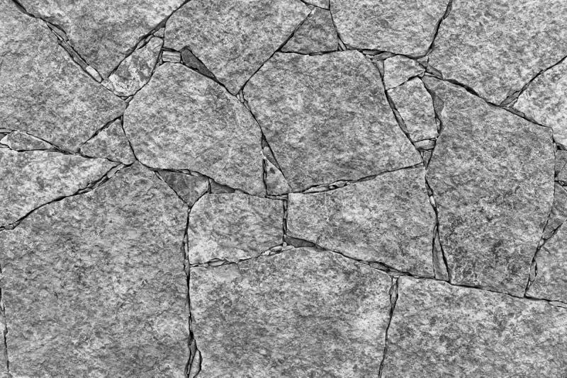 Grausteinwand für den Hintergrund stockbilder