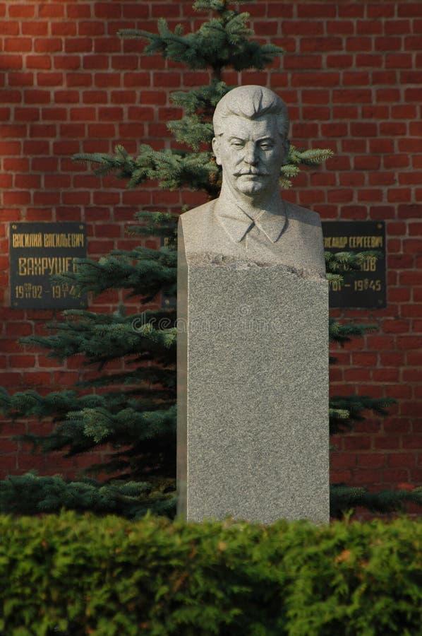 grav s stalin royaltyfri bild