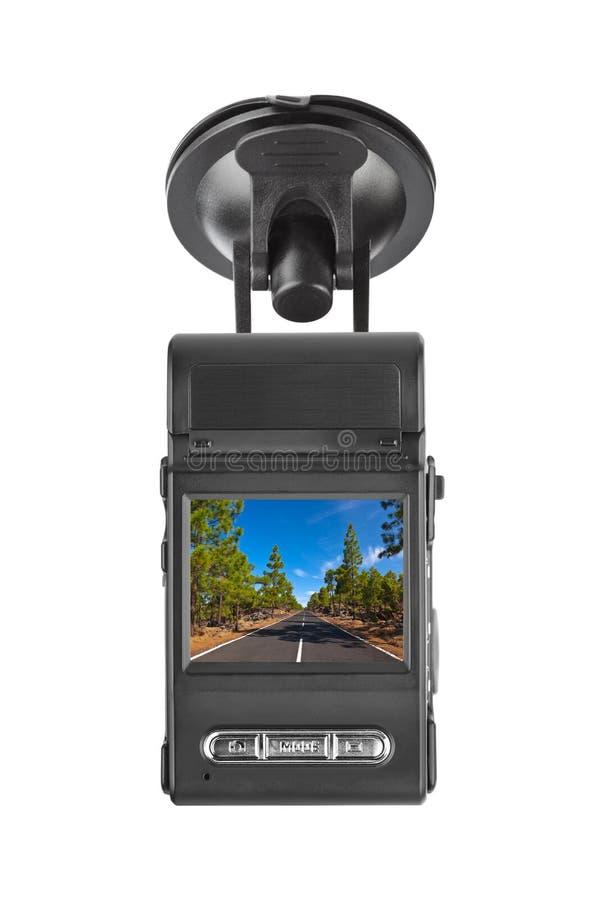 Gravador de vídeo do carro fotos de stock