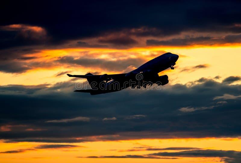 Gravar el aeroplano fotos de archivo