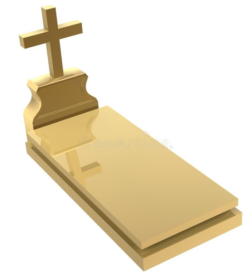 Download Grave stock illustration. Illustration of honor, render - 1217932