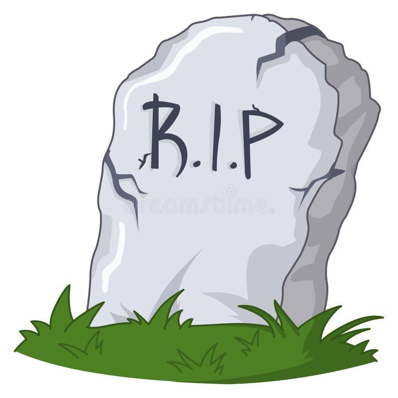 Grave stock illustration