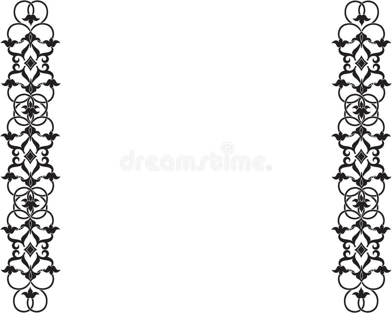 Grave o ornamento ilustração royalty free