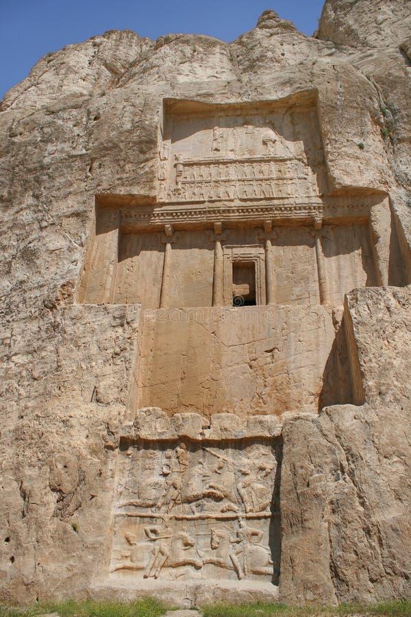 Free Grave Of King Daeiros Near Persepolis Stock Photo - 14030010