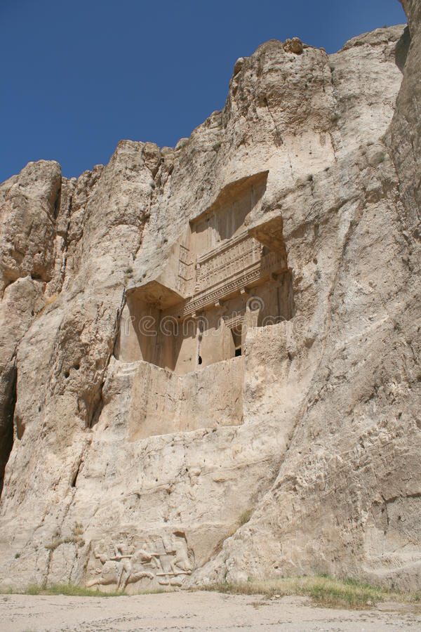 Free Grave Of King Daeiros Near Persepolis Royalty Free Stock Photos - 14030318