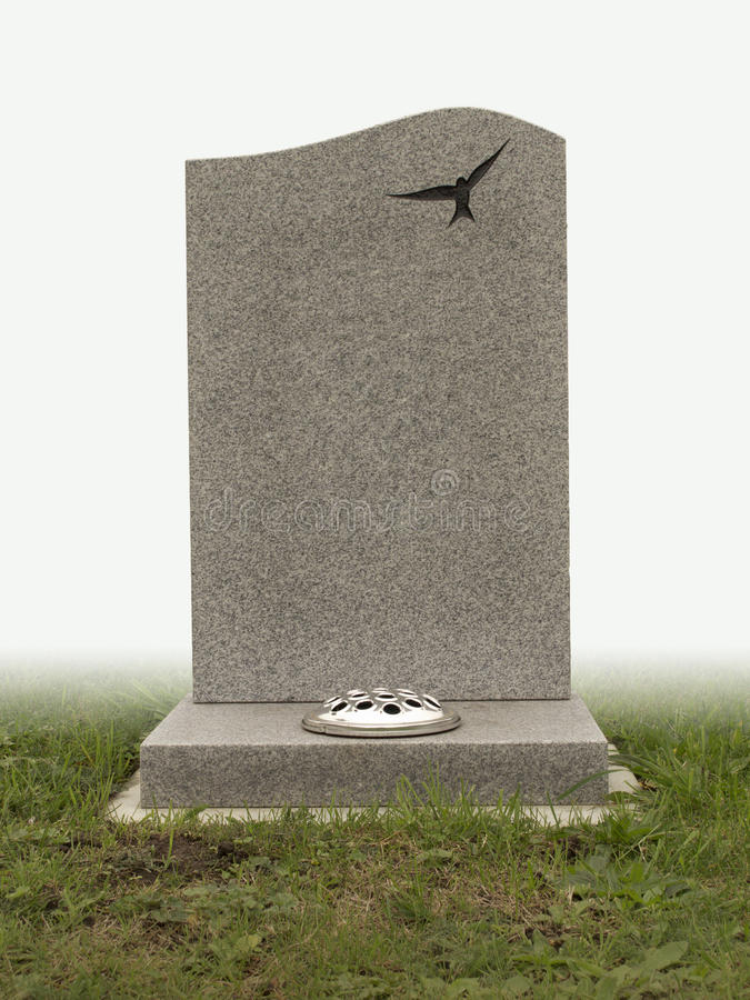 Grave stone royalty free stock photography