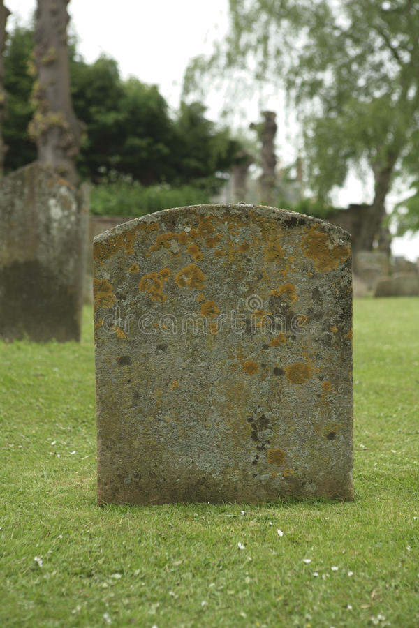 Grave stone stock images