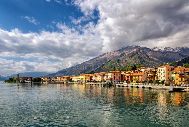 Gravedona (Lago di Como) fotos de archivo libres de regalías
