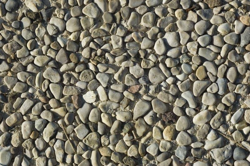 Gravel background stock image