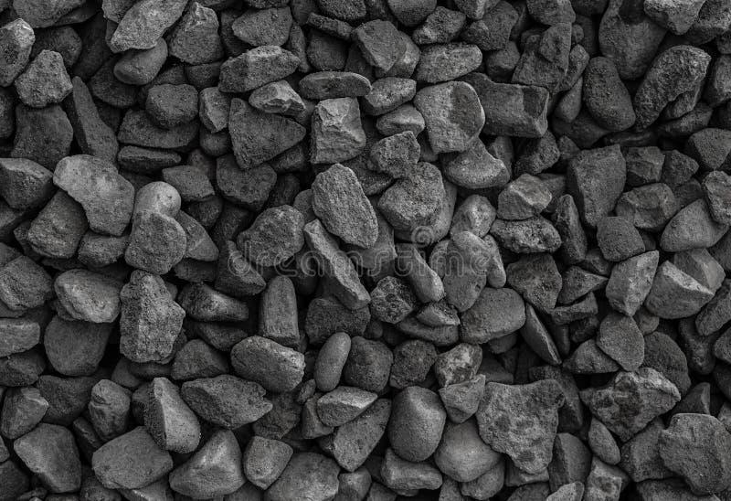 Gravel gray dust background geology, texture monochrome set of stones stock photography