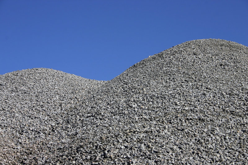 Download Gravel hill stock photo. Image of grit, hill, mountain - 348174