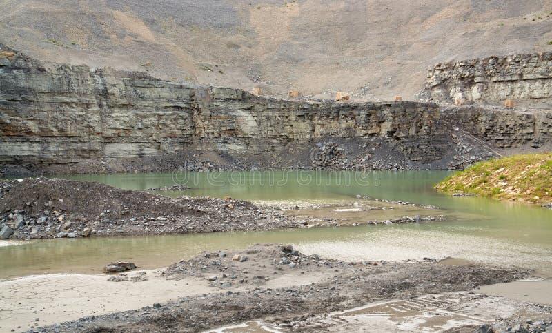 Gravel quarry stock images