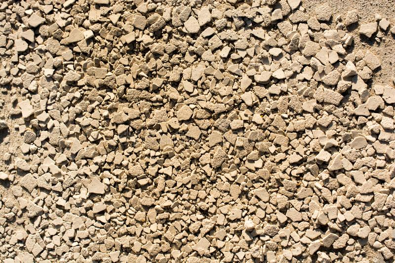 Gravel stones textured as abstract grunge background stock images