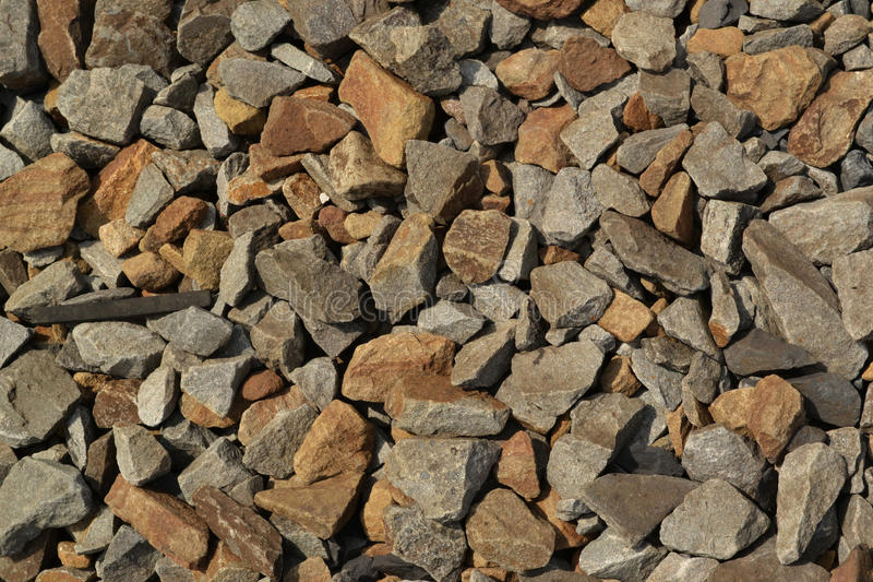 Gravel. Texture gravel rocks stone constructional material stock photos