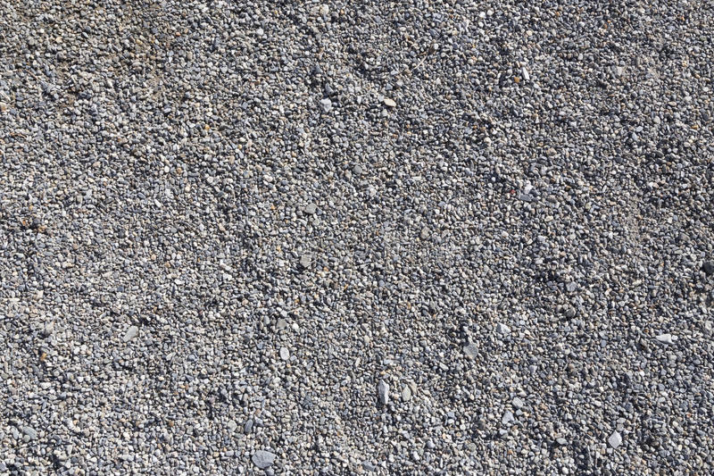 Gravel texture. Gravel tiny stones texture horizontal stock images