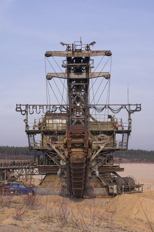 gravel1 ορυχείο στοκ φωτογραφία με δικαίωμα ελεύθερης χρήσης
